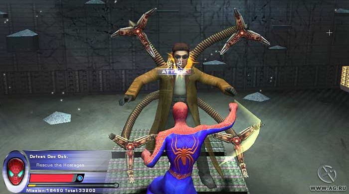 Spider-Man 2-Screenshot