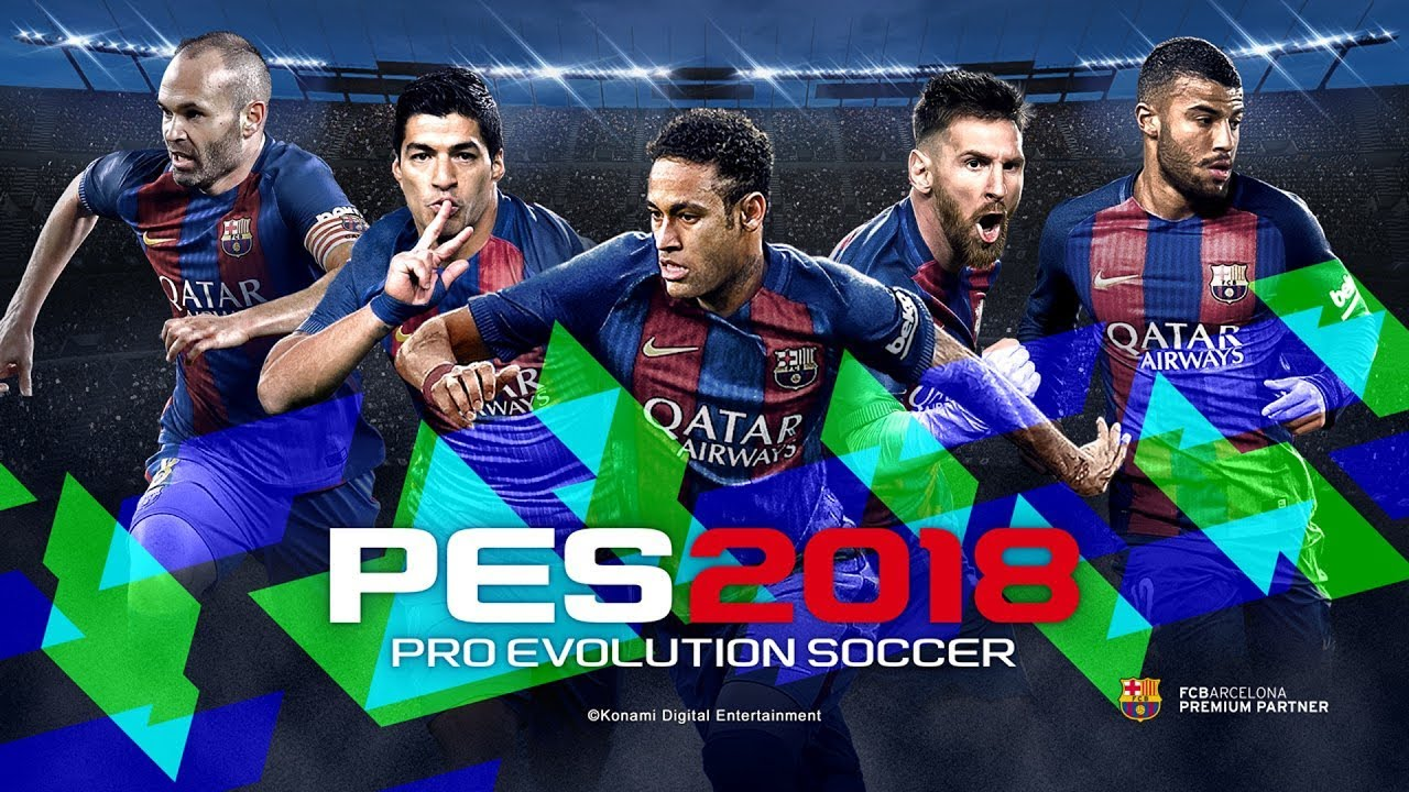 PRO EVOLUTION SOCCER 2018-CPY