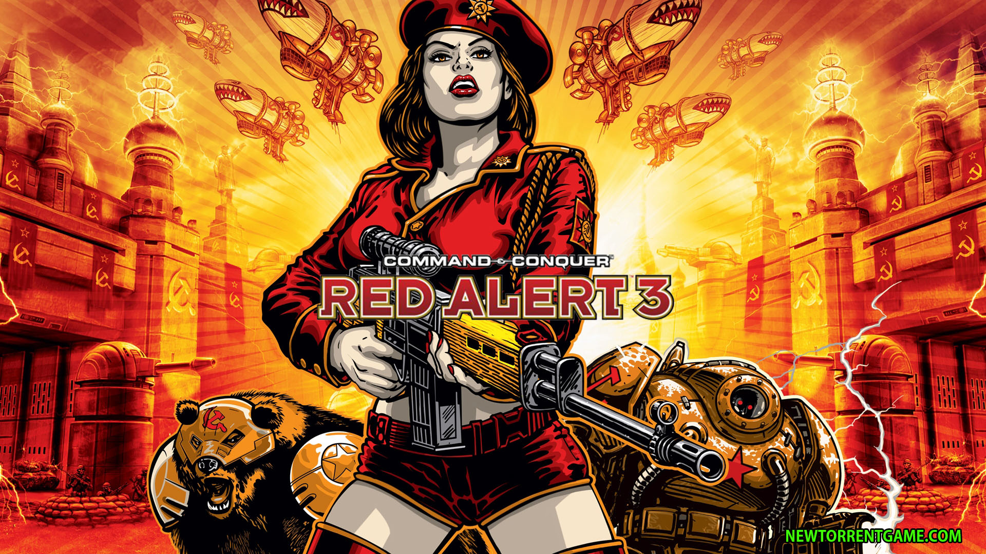 COMMAND AND CONQUER RED ALERT 3 TORRENT