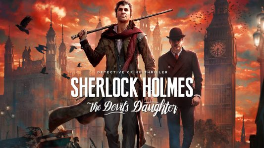 SHERLOCK HOLMES THE DEVIL'S DAUGHTER-CPY