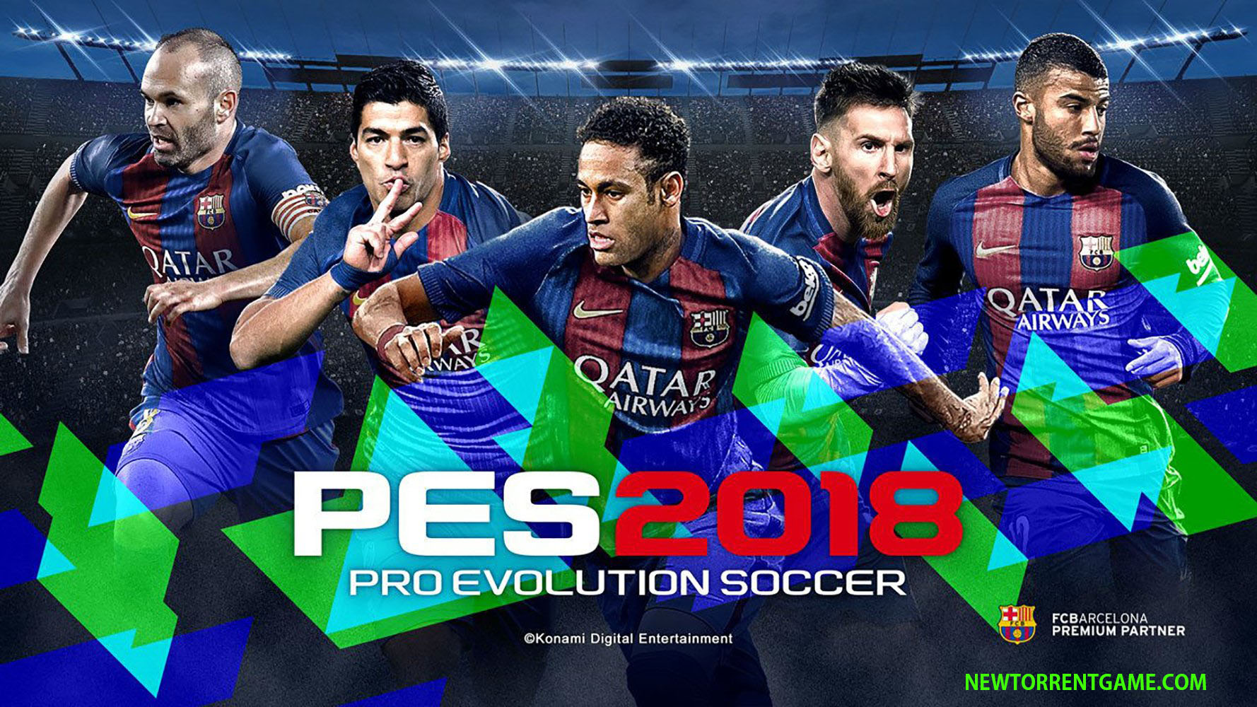 Pro Evolution Soccer 2018 torrent download pc
