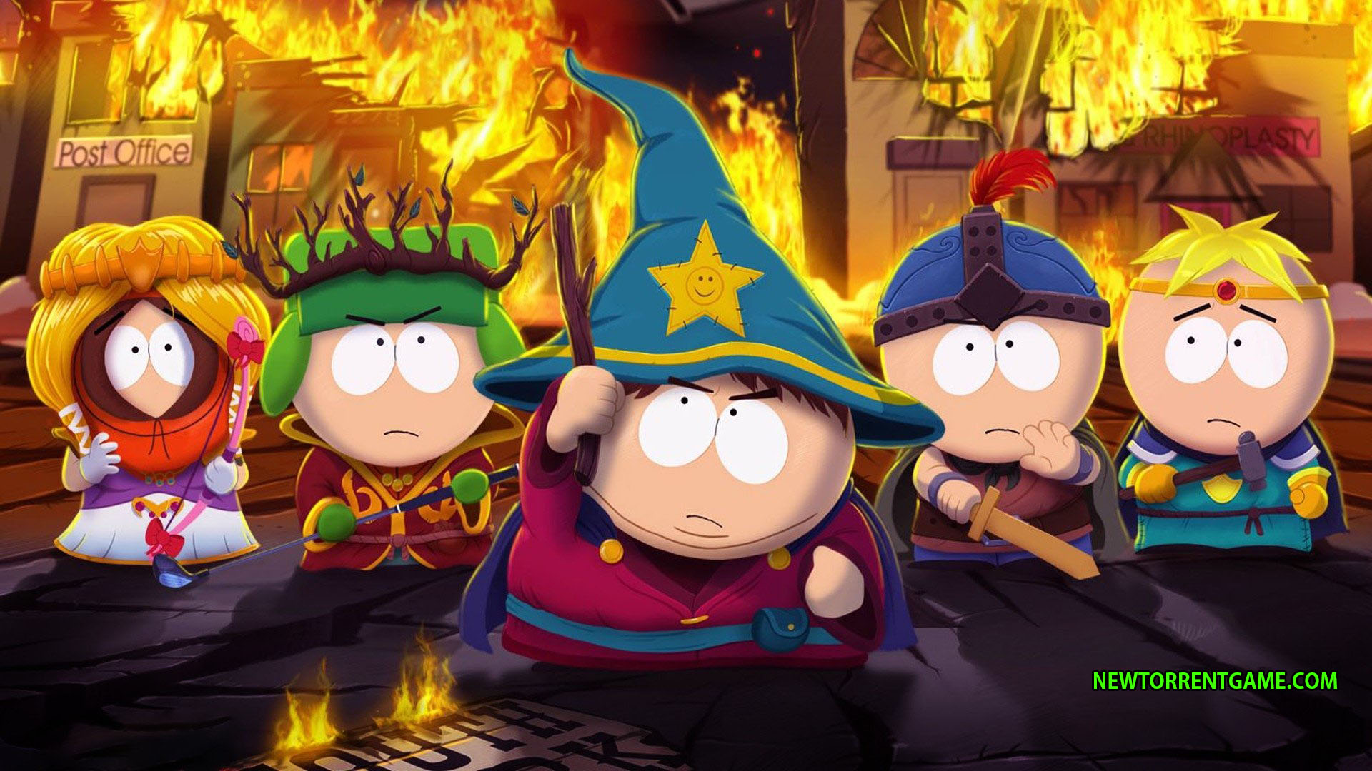 South Park The Stick Of Truth Mac Video Game Developed By Obsidian Entertainment Collaboration With Digital Studios And Published Ubisoft