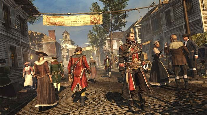 Assassin's Creed Rogue Remastered 1