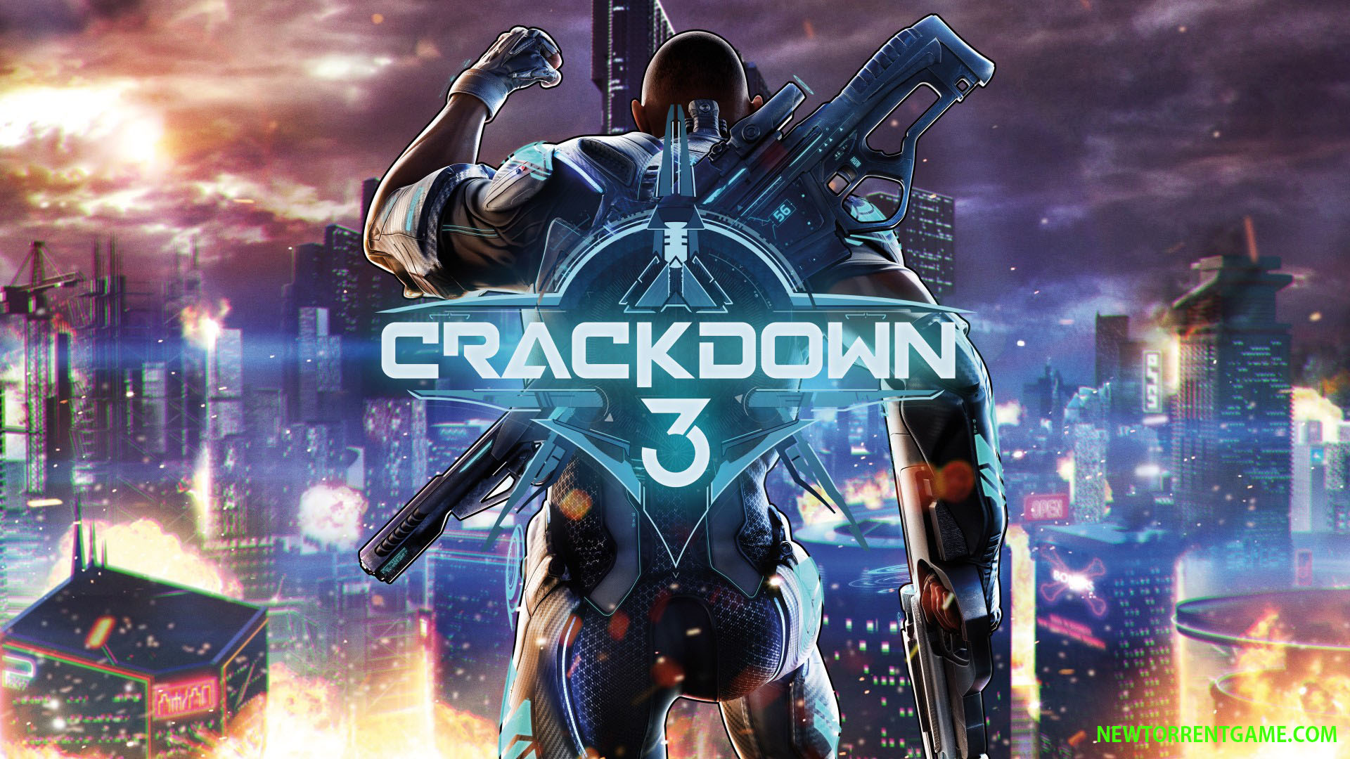 CRACKDOWN 3 torrent download free pc