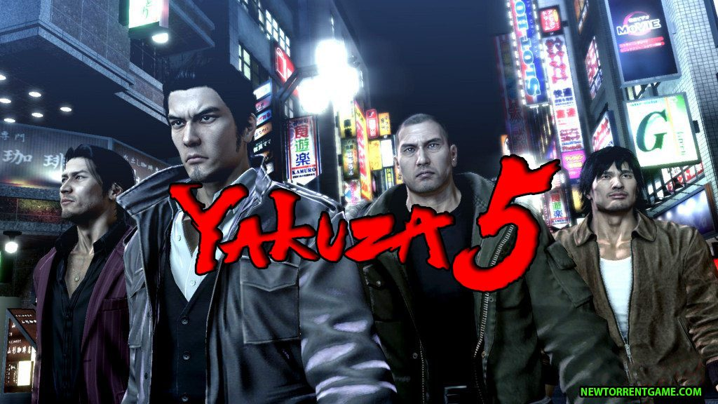 yakuza 5 pc download